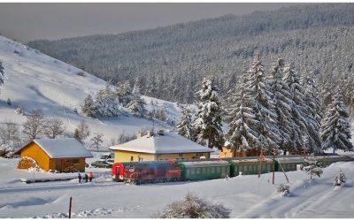 Най-доброто живописно, железопътно пътуване в Европа минава покрай Юндола